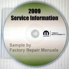 2009 Dodge Ram 2500 3500 4500 5500 Mopar Service Information