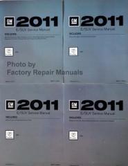 2011 Cadillac SRX Factory Service Manual Volume 1, 2, 3, 4