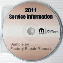 2011 Dodge Caliber Mopar Service Information