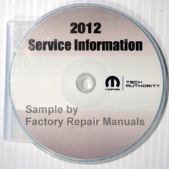 2012 Dodge Caliber Mopar Service Manual
