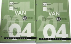 2004 Chevy Astro GMC Safari Van Service Manual Volume 1, 2
