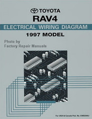 Toyota RAV4 Electrical Wiring Diagrams 1997 Model