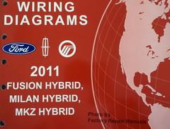 2011 Fusion Milan and MKZ Electrical Wiring Diagrams Manual - Hybrid Models