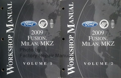 2009 Ford Fusion, Mercury Milan Lincoln MKZ Service Manual Volume 1, 2
