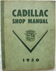 Cadillac Shop Manual 1950