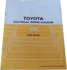 Toyota Electrical Wiring Diagram Van 1986 Model