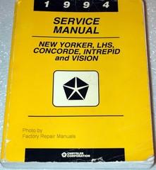 1994 New Yorker Concorde LHS Intrepid Vision Factory Service Manual Shop Repair
