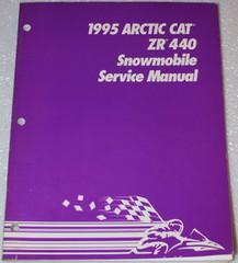 1995 Arctic Cat Zr440 Snowmobile Factory Service Manual Zr 440 Oem Shop Repair