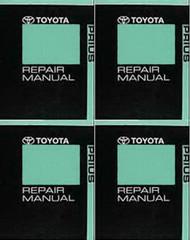 2010 Toyota Prius Repair Manual Volume 1, 2, 3, 4