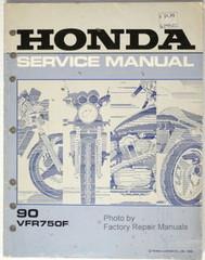 1990 HONDA VFR750F Factory Service Manual VFR 750 F RC36 Motorcycle Shop Repair