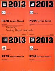 GM 2013 Chevrolet Cruze P/Car Service Manual Volume 1, 2, 3, 4