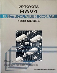 1999 Toyota RAV4 Electrical Wiring Diagrams