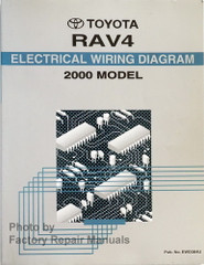 2000 Toyota RAV4 Electrical Wiring Diagrams