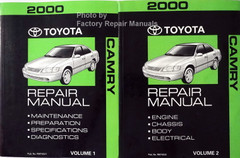 2000 Toyota Camry Electrical Wiring Diagrams Original ...