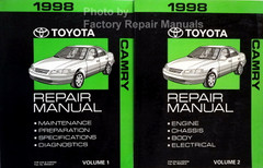 1998 Toyota Camry Electrical Wiring Diagrams Original Factory Manual Factory Repair Manuals