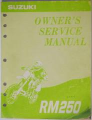 1994 Suzuki RM250 Original Owners Service Manual - RM 250 RM250R Shop Repair