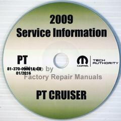 2009 PT Cruiser Mopar Service Information