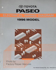 1996 Toyota Paseo Electrical Wiring Diagrams