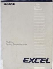 1990 Hyundai Excel Factory Service Manual Original Shop Repair