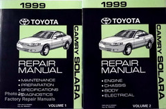 1999 Toyota Camry Solara Electrical Wiring Diagrams ...