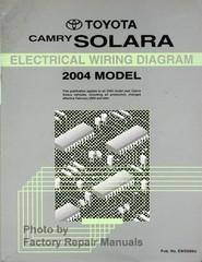 2004 Toyota Camry Solara Electrical Wiring Diagram