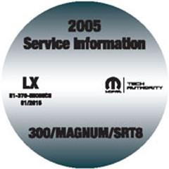 2005 300/Magnum/SRT8 Mopar Service Information