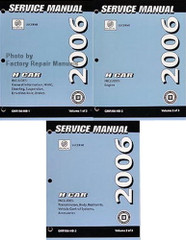 2006 Buick Lucerne Service Manuals GM HB Platform