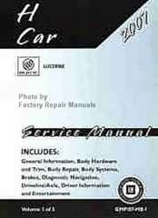 Gm Buick Lucerne Factory Repair Manuals