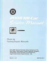 2008 Buick Lucerne Service Manual Set