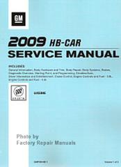 2009 Buick Lucerne Service Manual Set