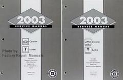 2003 Chevrolet Cavalier & Pontiac Sunfire Factory Shop Service Manual Set
