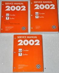 Service Manual 2002 Chevrolet Cavalier Pontiac Sunfire Volume 1, 2, 3