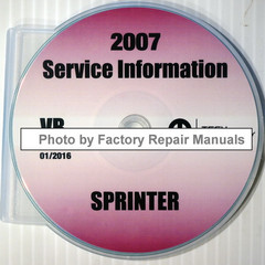 2007 Service Information Dodge Sprinter