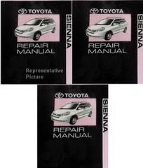 Toyota Sienna 2008 Repair Manual Volume 1, 2, 3