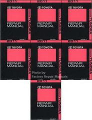 2011 Toyota Tundra Factory Service Manual 7 Volume Set - Original Shop Repair