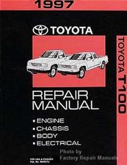 1997 Toyota Tacoma Electrical Wiring Diagrams Original ...