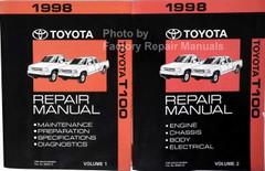 1998 Toyota T100 Repair Manual Volume 1, 2