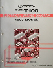 1993 Toyota T100 Electrical Wiring Diagrams