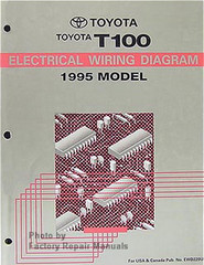 1995 Toyota T100 Electrical Wiring Diagrams