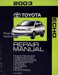 2003 Toyota Echo Factory Repair Manual