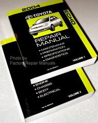 2004 Toyota Echo Factory Service Manual Set - Original Shop Repair