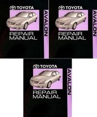 2006 Toyota Avalon Electrical Wiring Diagrams Original ...