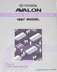 Toyota Avalon Electrical Wiring Diagrams 1997 Model