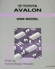 Toyota Avalon Electrical Wiring Diagrams 2006 Model