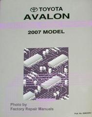 Toyota Avalon Wiring Diagram 2007 Model