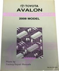 2008 Toyota Avalon Electrical Wiring Diagrams Original Factory Manual