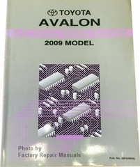 2009 Toyota Avalon Electrical Wiring Diagrams Original Factory Manual