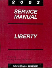 2003 Jeep Liberty Mopar Service Manual