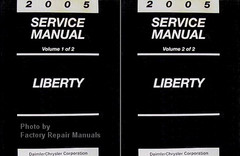 2003 Service Manual Liberty Volume 1, 2