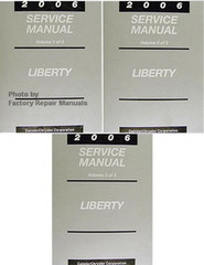 2006 Service Manual Liberty Volume 1, 2, 3